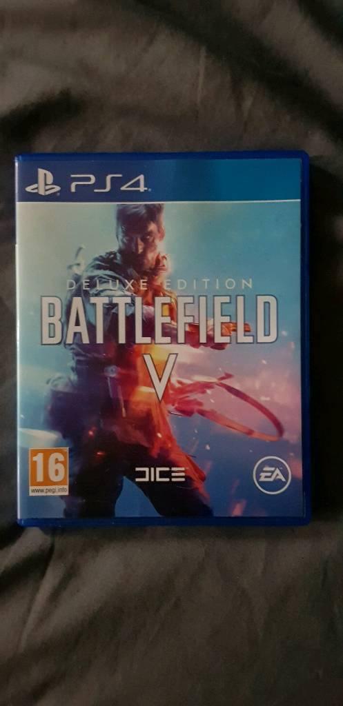 battlefield v deluxe edition ps4 vs standard