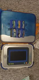 Vtech InnoTab and games.