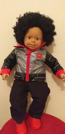 Smoby Rio doll (boy doll) 65cm with soft toy dog