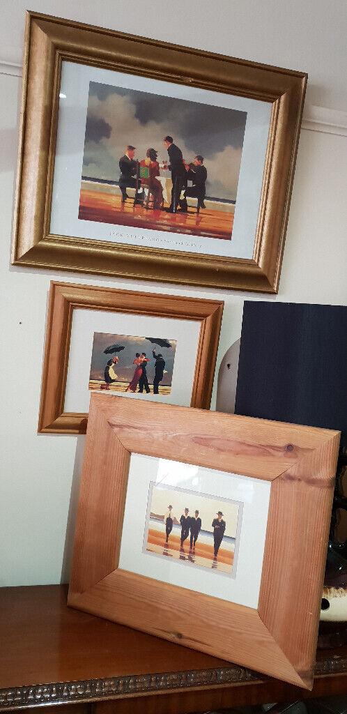 Keats Jack Vettriano /'The Billy Boys/' Framed or Mounted Art Print NEW