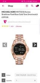 Micheal kors smartwatch