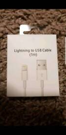 Apple lighting cable