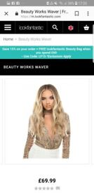Beauty works 'the waver'