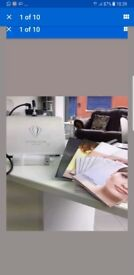 Crystal clear mini microdermabrasion machine