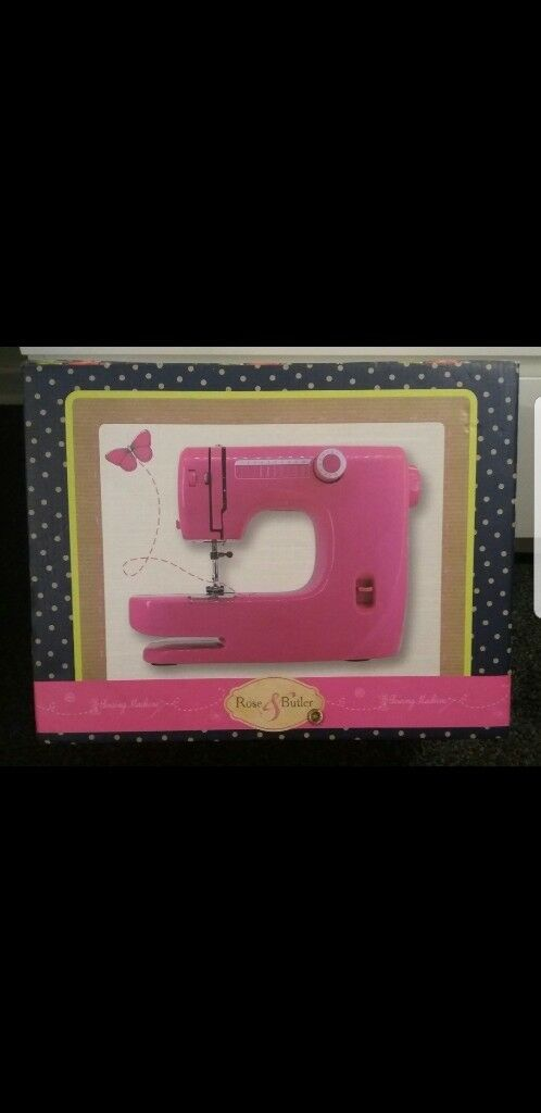 Pink Rose And Butler Sewing Machine In Newcastle Tyne And Wear Awesome Rose Sewing Machine