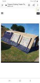 Trailer tent trigano