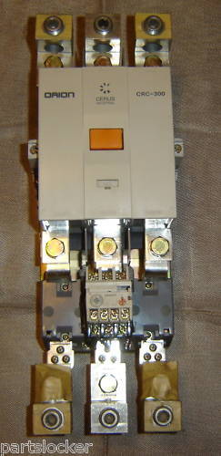 CERUS INDUSTRIAL ORION CRC-300 SIZE 5 CONTACTOR STARTER