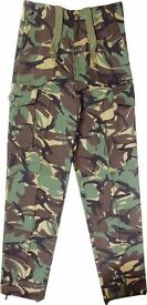 Mil-Com Kids Soldier 95 Dpm Camouflage Trousers Army Cargo Style