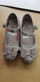 Girls sparkly shoes size 12