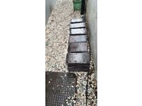 Reclaimed Slate Roof Tiles. Approx 220
