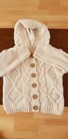 Girls Next aged 2-3 years knitted cardi