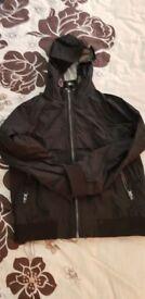 Boys black jacket aged 10-11