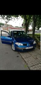 renault megane dynamique 5 DOOR HATCHBACK PETEOL 16V