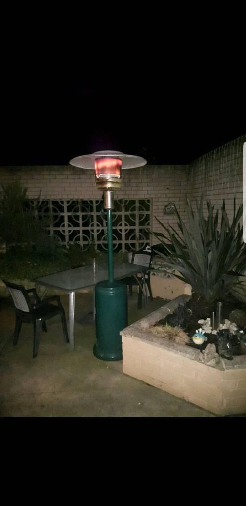 Heater patio