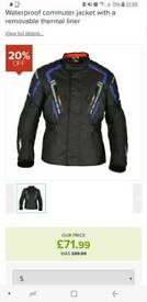 Oxford Metro motorbike jacket size small