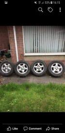 Freelander wheels with off road tyres