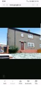 3 bed house in Nairn rd Greenock for rent.
