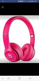Beats headphones pink