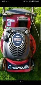 Toro petrol push lawnmower