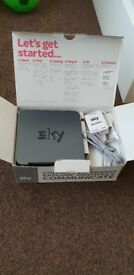 SKY WIRELESS ROUTERS AND TALKTALK MODEM