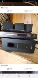 Surround sound DVD speakers remote