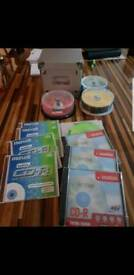 Bundle of cd's & dvd's (blanks)