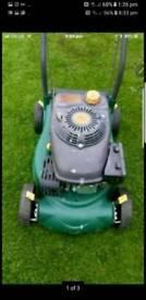 Tesco petrol push lawnmower