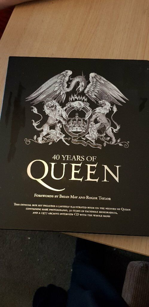 40 Years of Queen Hard Back Book including all CDs and Inserts | in  Southside, Glasgow | Gumtree