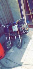 2 MINI MOTO DIRT BIKES QUICK SALE
