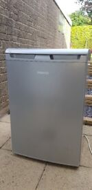 Beko under counter 130L silver fridge MINT CONDITION fully working and cleaned Model No. L54135