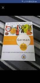 German speaking book
