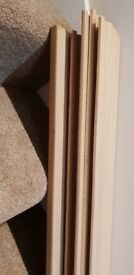 howdens oak veneered skirting board - reduced to £50 for quick sale