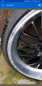 "19"" Tyrus Cades Alloys and Tyres"
