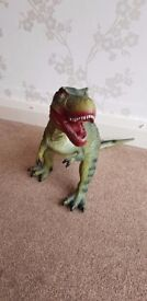 Dinosaur Planet T-Rex Battery Operated Remote Control Walking Toy Dinosaur