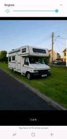 Peugeot 2.5 6 berth camper motorhome