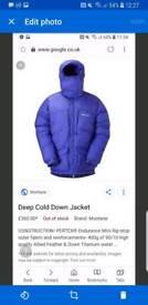 Montane deep down jacket
