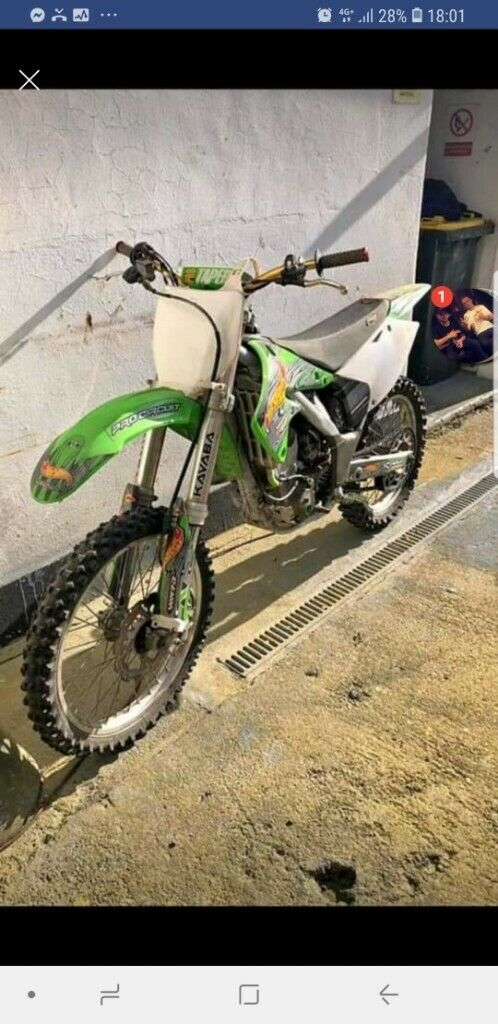Kawasaki kxf 250 2004 clean and tidy | in Weymouth, Dorset | Gumtree