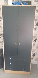 Black/Pine Wardrobe