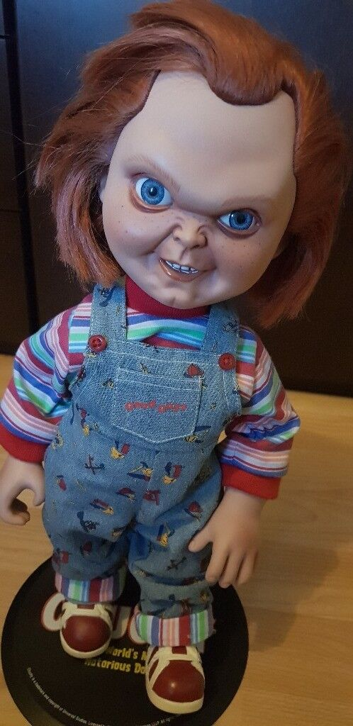 14 Sideshow Chucky Doll Original And Boxed In Grimsby
