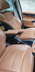 Brown leather GRAND C4 PICASSO