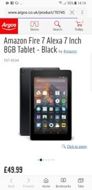 New sealed amazon fire 7 tablet