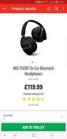 AKG wireless headphones. BNIB