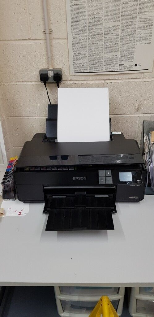 Sublimation Epson P600 A3+ Printer with refillable carts - Professional Use  | in Poole, Dorset | Gumtree