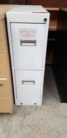 Heavy Duty White Commercial Lockable Safety Deposit Drawer
