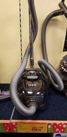 AEG ALL Floor Bagless Cylinder Vacuum 800w Ebony Energy Class A (Ex-Display)