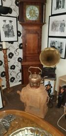 Large copper and brass kettle