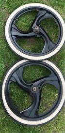 "20"" Bmx mag wheels"