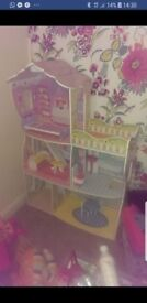 Large dolls house in excellent condition.