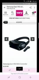 Samsung gear vr3 with remote
