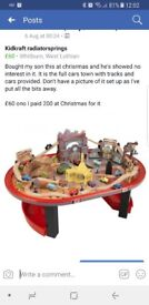 Cars town table